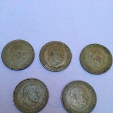 Monedas Franco: 1 PESETA ESTADO ESPAÑOL 1966*1971. Lote 150349226