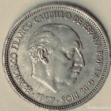 """Monedas Franco: 50 PESETAS """"UNA LIBRE GRANDE"""" EBC. Lote 149699528"""