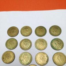Monedas Franco: LOTE DE 1 PESETA ESTADO ESPAÑOL 1966*1974. Lote 150520842