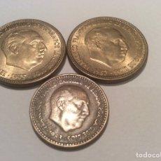 Monedas Franco: LOTE ESPAÑA ESTADO ESPAÑOL 3 MONEDAS. Lote 151907873