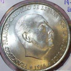 Monedas Franco: 100 PESETAS 1966 *66. Lote 150536402