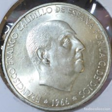 Monedas Franco: 100 PESETAS 1966 *70. Lote 150540746