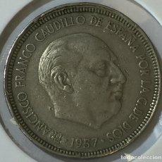 Monedas Franco: 5 PESETAS 1957 * 64. Lote 150586074