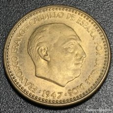 Monedas Franco: 1 PESETA 1947* 50. SC. Lote 110977883