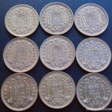 Monedas Franco: FRANCO, 1 PESETA 1966, ESTRELLAS 67,68,69,70,71,72,73,74,75. Lote 151604998