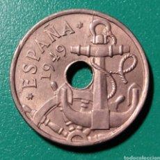 Monedas Franco: ESPAÑA. 50 CÉNTIMOS 1949 *52. EBC+. Lote 152582150
