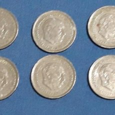 Monedas Franco: LOTE 6 DUROS 1957 FRANCO. Lote 152582577