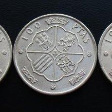 Monedas Franco: FRANCO LOTE 3 MONEDAS 100 PESETAS, 1966, ESTRELLAS 66, 67 Y 68. Lote 152585938