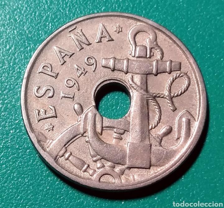 50 CÉNTIMOS 1949 *53. ERROR. EBC. (Numismática - España Modernas y Contemporáneas - Estado Español)