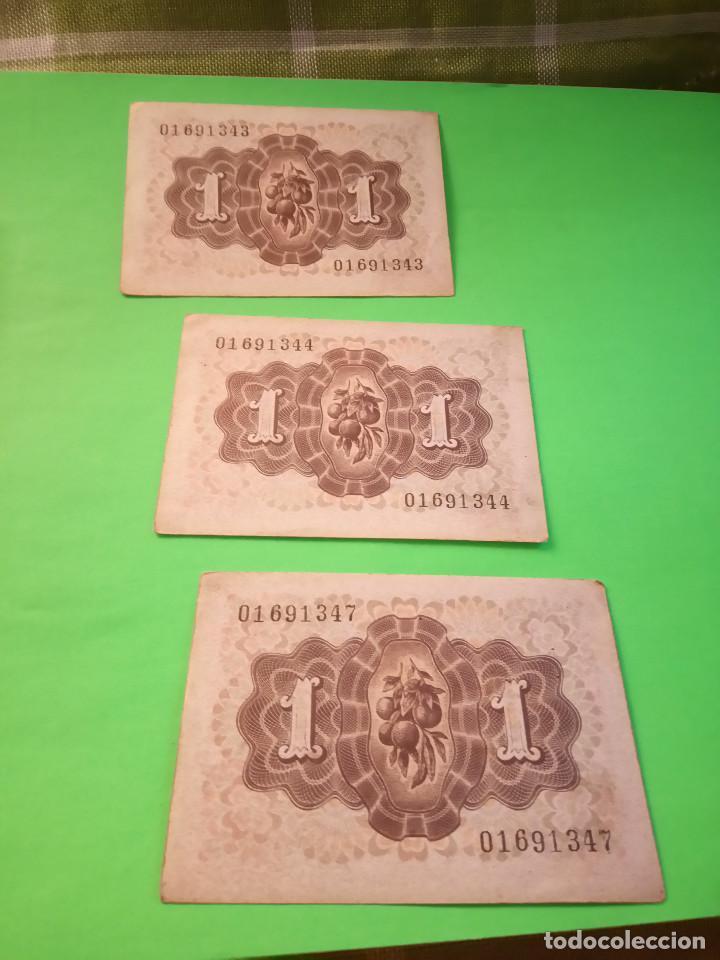 Monedas Franco: TRES PESETAS. DAMA DE ELCHE. SIN SERIES. 19.6.1.948. EBC PERFECTOS. 2 CORRELATIVOS. DESCRIP. Y FOT - Foto 5 - 153516854