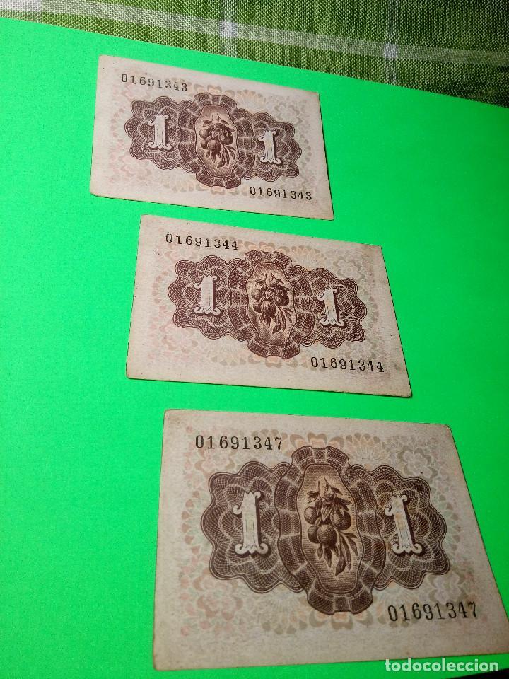 Monedas Franco: TRES PESETAS. DAMA DE ELCHE. SIN SERIES. 19.6.1.948. EBC PERFECTOS. 2 CORRELATIVOS. DESCRIP. Y FOT - Foto 8 - 153516854