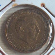 Monedas Franco: 2,50 PESETAS 1953 *56. Lote 154141998