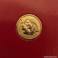 Monedas Franco: MEDALLA CONMEMORATIVA DE LA BODA DE LA INFANTA CRISTINA E IÑAKI URDANGARIN , AÑO 1.997. Lote 154247610
