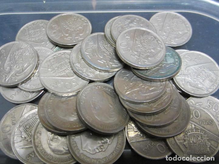 LOTE DE 50 PESETAS DE FRANCO DE 1957 (30 PIEZAS) (Numismática - España Modernas y Contemporáneas - Estado Español)
