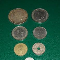 Monedas Franco: MONEDAS DE FRANCO. Lote 155408176