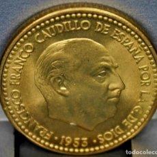 Monedas Franco: ESPAÑA 1 PESETA FRANCO, 1953 ESTRELLA 61 S/C PRECIOSA ASÍ. Lote 155686134