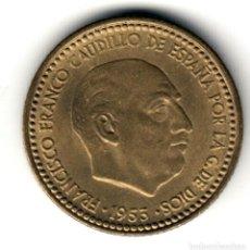 Moedas Franco: ESPAÑA: 1 PESETA 1953 *19* *62* FRANCO S/C (1962) . Lote 156687214