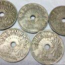 Monedas Franco: 7 MONEDAS DE 25 CÉNTIMOS ESTADO ESPAÑOL 1937, VIENA (II AÑO TRIUNFAL) - MEDIDA 2'50 CM.. Lote 156705410