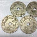 Monedas Franco: 7 MONEDAS DE 25 CÉNTIMOS ESTADO ESPAÑOL 1937, VIENA (II AÑO TRIUNFAL) - MEDIDA 2'50 CM.. Lote 156705606