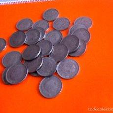 Monedas Franco: LOTE 25 MONEDAS 50 PESETAS. FRANCO 1957. Lote 156715148