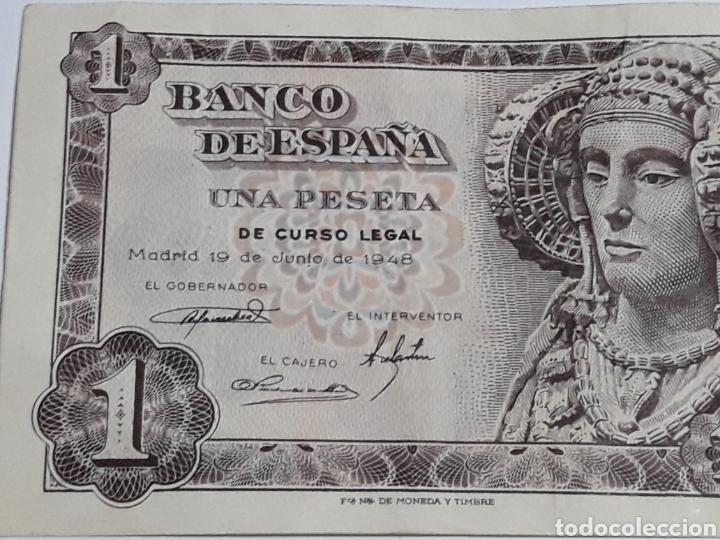 Monedas Franco: LOTE 2 PESETAS 19 JUNIO 1948 SERIES N ,F SIN CIRCULAR - Foto 2 - 173112908