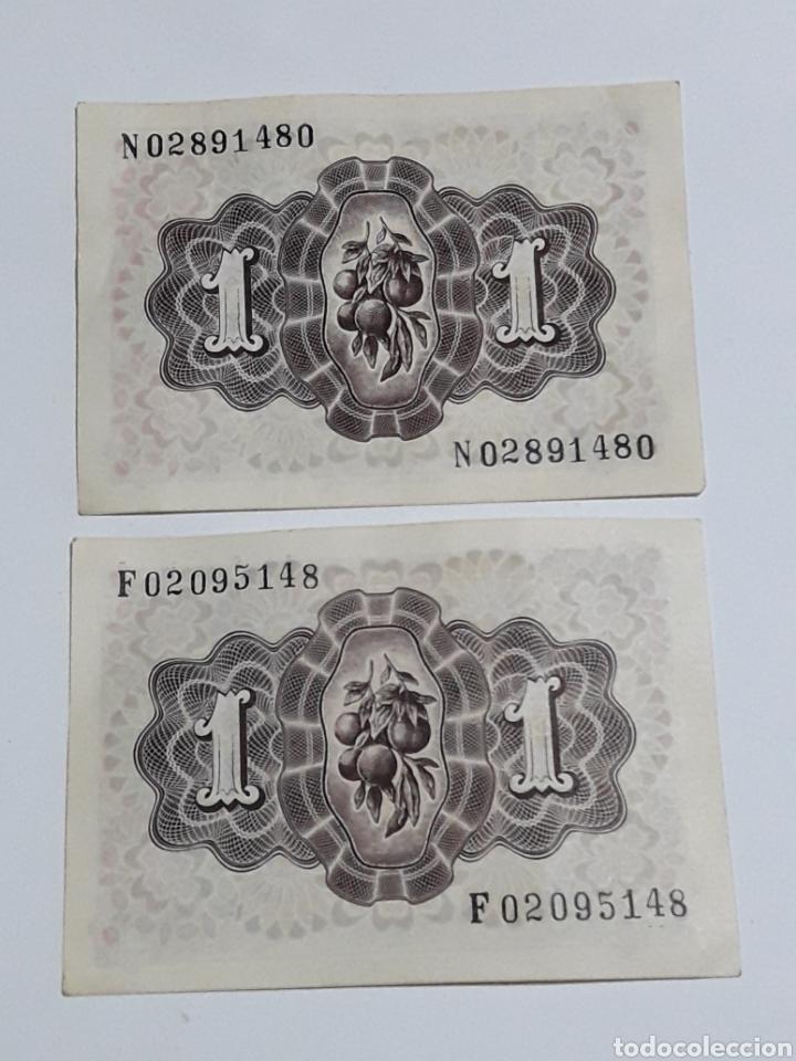 Monedas Franco: LOTE 2 PESETAS 19 JUNIO 1948 SERIES N ,F SIN CIRCULAR - Foto 4 - 173112908