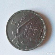 Monete Franco: MONEDA DE 5 PESETAS DEL AÑO 1957 ESTRELLA 63 EN BUEN ESTADO DE CONSERVACIÓN. Lote 241382790