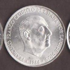 Monedas Franco: MONEDAS - ESTADO ESPAÑOL - 3 DE 100 PESETAS 1966*66* PG-352 (SC-). Lote 158585658