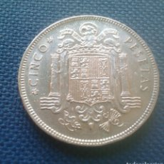 Monedas Franco: 5 PESETAS 1949 *50 EBC. Lote 160205408