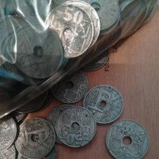 Monedas Franco: LOTE MONEDAS 50 CENTIMOS. Lote 160579802