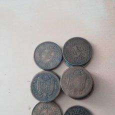 Monedas Franco: LOTE MONEDAS 1 PESETA. Lote 160585590
