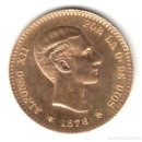 Monedas Franco: ESPAÑA 10 PESETAS ORO 1878 *19* *62* REACUÑACIÓN OFICIAL AÑO 1962 POR FRANCO. Lote 160694730