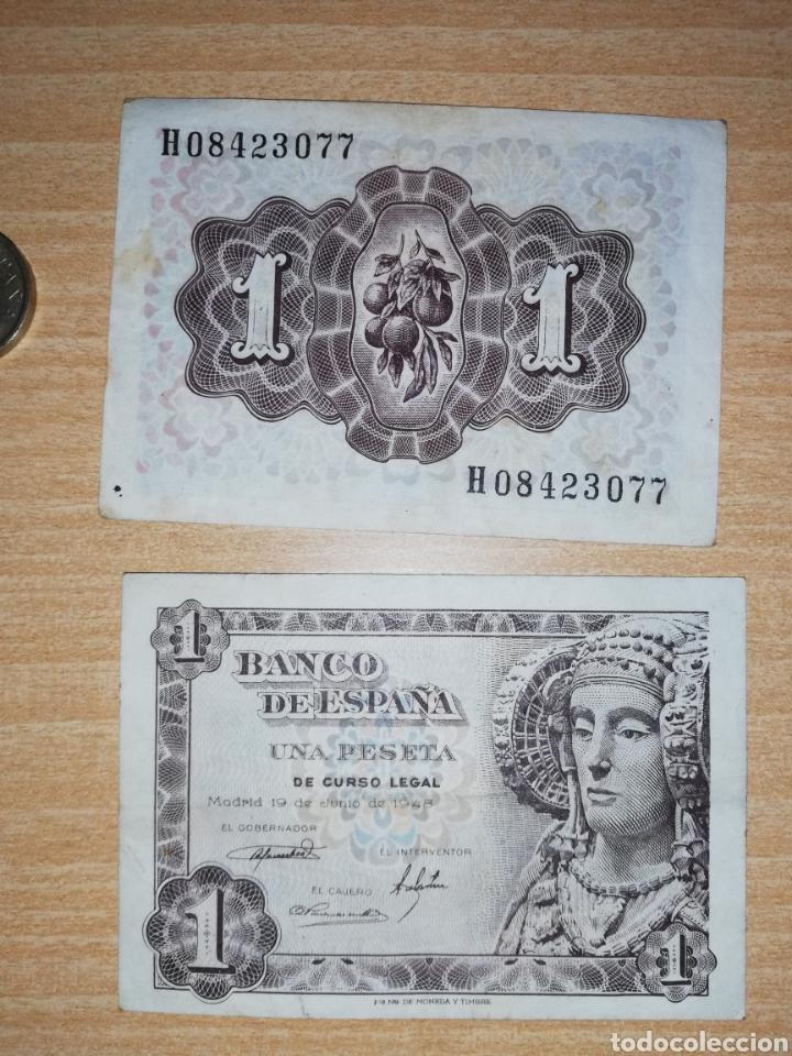 Monedas Franco: Lote de monedas y billetes varios. - Foto 2 - 161137370