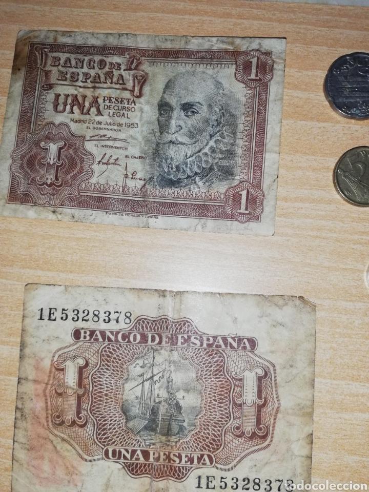 Monedas Franco: Lote de monedas y billetes varios. - Foto 4 - 161137370