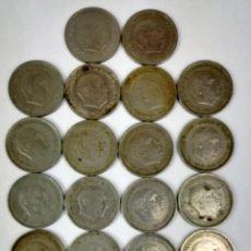 Monedas Franco: 26 MONEDAS DE CINCO PESETAS FRANCISCO FRANCO. ESPAÑA 1957.. Lote 161233642