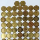Monedas Franco: 58 MONEDAS DE UNA PESETA. FRANCISCO FRANCO. ESPAÑA 1966. Lote 161236410