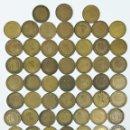 Monedas Franco: 80 MONEDAS. UNA PESETA FRANCISCO FRANCO. ESPAÑA 1947.1953.1963. Lote 161242262