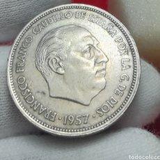 Monedas Franco: 25 PESETAS 1957*66. Lote 161349526
