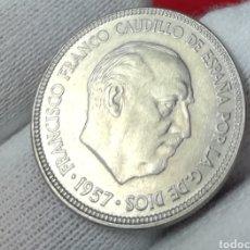 Monedas Franco: 5 PESETAS 1957*62. Lote 161452265