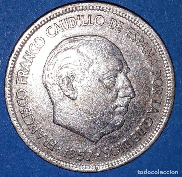 5 PESETAS FRANCO 1957 - 58* (Numismática - España Modernas y Contemporáneas - Estado Español)