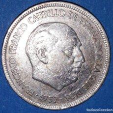 Monedas Franco: 5 PESETAS FRANCO 1957 - 58*. Lote 161584098