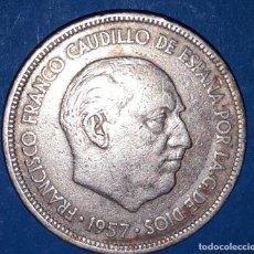 Monedas Franco: 5 PESETAS FRANCO 1957 - *59. Lote 161585390