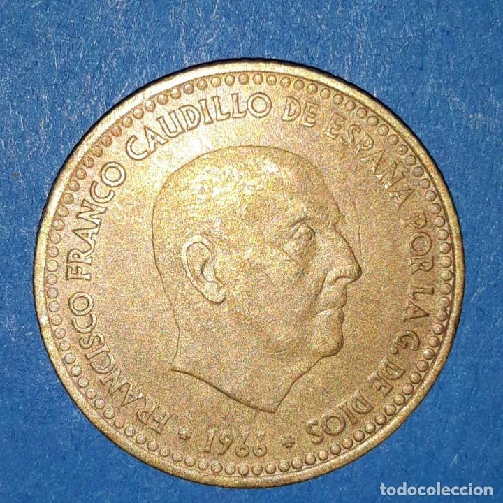 5 PESETAS FRANCO 1966 - *70 (Numismática - España Modernas y Contemporáneas - Estado Español)