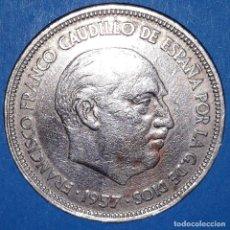 Monedas Franco: 25 PESETAS FRANCO 1957 - *58. Lote 161706194