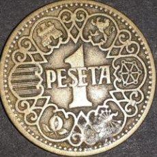 Monedas Franco: 1 PESETA 1944. Lote 161707722