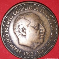 Monedas Franco: 2.50 PESETAS FRANCO 1953 - *54. Lote 161707934