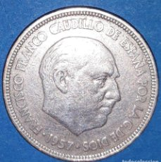 Monedas Franco: 5 PESETAS FRANCO - 1957/ *59. Lote 161709682