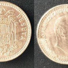 Monedas Franco: ESPAÑA - 1 PESETA, 1966-70, KM# 796. Lote 162829470