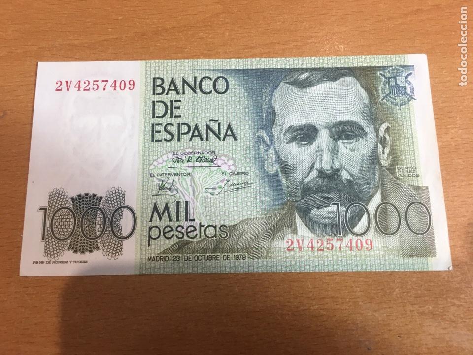 BILLETE 1000 PESETAS 1979 PLANCHA (Numismática - España Modernas y Contemporáneas - Estado Español)