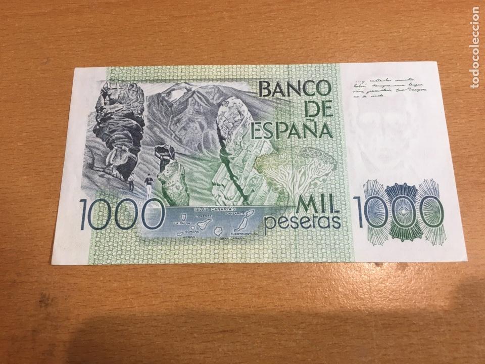 Monedas Franco: Billete 1000 pesetas 1979 plancha - Foto 2 - 163416508